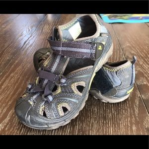 Merrell hydro sandals toddler size 11